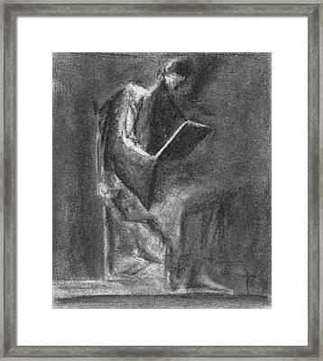 . Framed Print by James Lanigan Thompson MFA