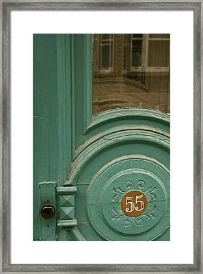 55 Framed Print by Art Ferrier