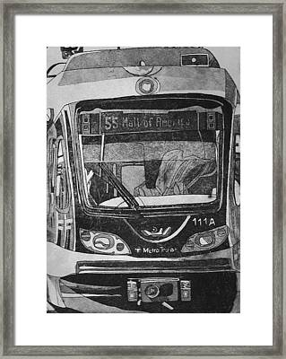 Framed Print featuring the mixed media 55 by Jude Labuszewski