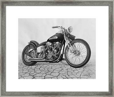 55 Pan Head Framed Print