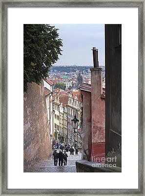 Prague Framed Print by Andre Goncalves