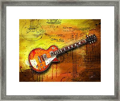 55 Sunburst Framed Print