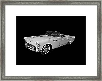 Framed Print featuring the photograph 55 T Bird by Gary Smith