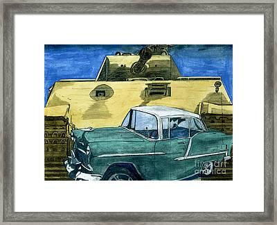 55 Framed Print by Timothy Winiarski