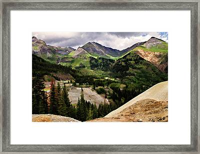 550 View Framed Print