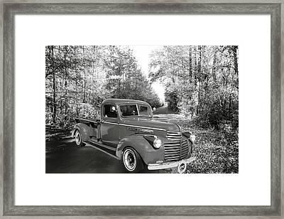 5514.01 1946 Gmc Pickup Truck Framed Print by M K  Miller