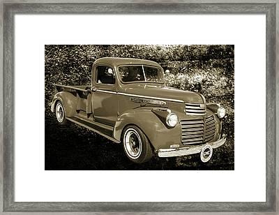 5514.02 1946 Gmc Pickup Truck Framed Print by M K  Miller
