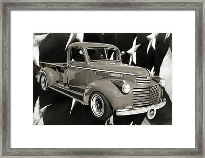5514.03 1946 Gmc Pickup Truck Framed Print by M K  Miller
