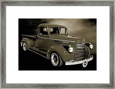 5514.04 1946 Gmc Pickup Truck Framed Print by M K  Miller