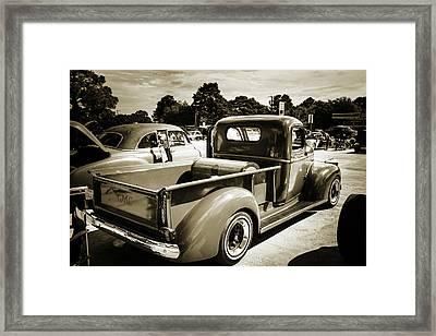 5514.06 1946 Gmc Pickup Truck Framed Print by M K  Miller