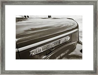 5514.08 1946 Gmc Pickup Truck Framed Print by M K  Miller
