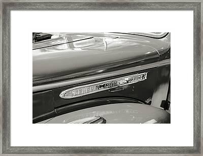 5514.11 1946 Gmc Pickup Truck Framed Print by M K  Miller