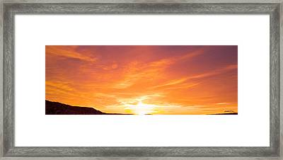 555 Am Framed Print