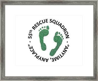 55th Rescue Squadron Framed Print