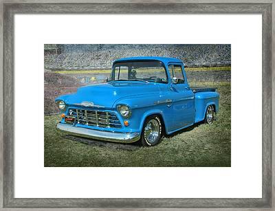 '56 Chevy Truck Framed Print