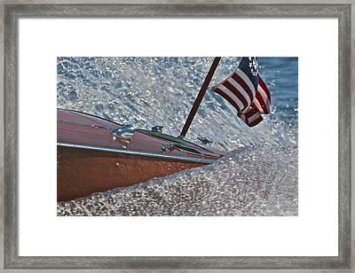 Patriotic Classic Framed Print by Steven Lapkin