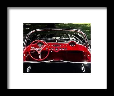 Classic Corvette Framed Prints