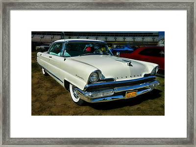 '56 Lincoln Framed Print by Victor Montgomery