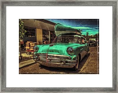 57 Buick - Just Coolin' It Framed Print by Thom Zehrfeld
