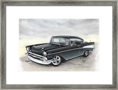 57 Chev Framed Print