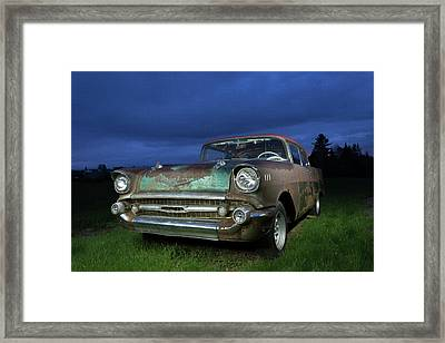 57' Chevrolet Framed Print
