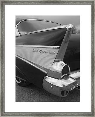 57 Chevy Framed Print by Audrey Venute