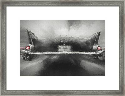 57' Chevy Mood Framed Print