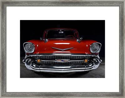 57 Chevy Framed Print