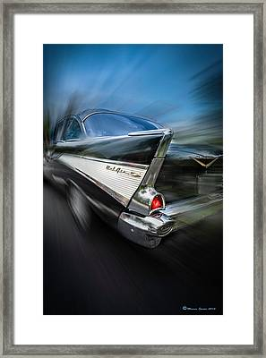 57' Go Power Framed Print by Marvin Spates