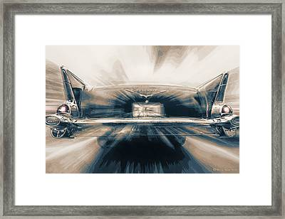 57' Speed Dream Framed Print