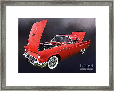 57 Thunderbird Framed Print