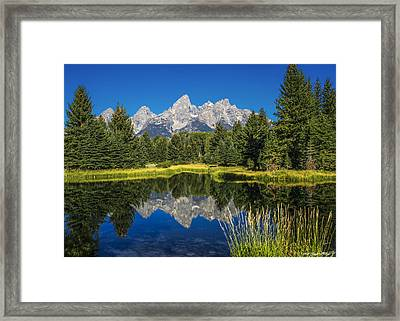 #5700 - Shwabakers Landing, Wyoming Framed Print