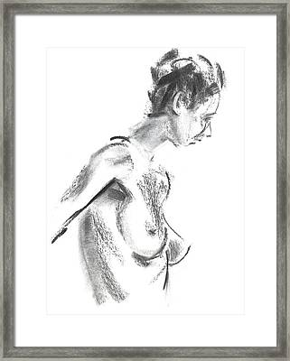 Framed Print featuring the drawing Rcnpaintings.com by Chris N Rohrbach