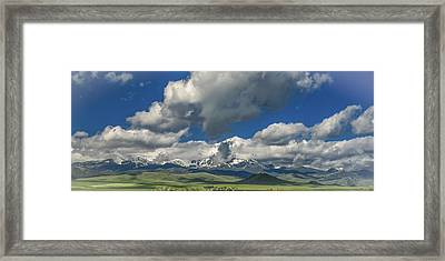 #5773 - Southwest Montana Framed Print