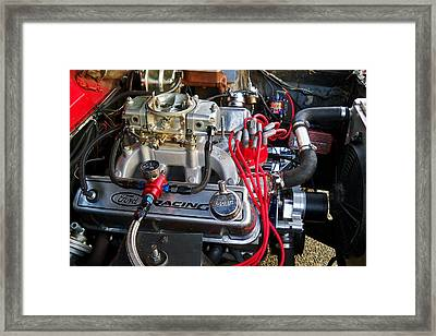 5.8 Ford Framed Print