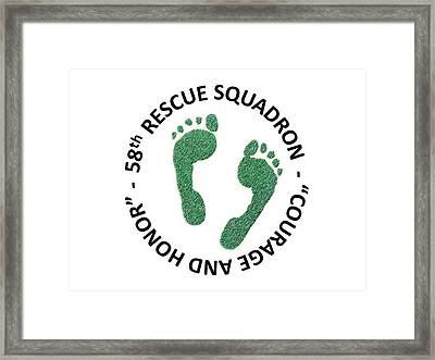 58th Rescue Squadron Framed Print