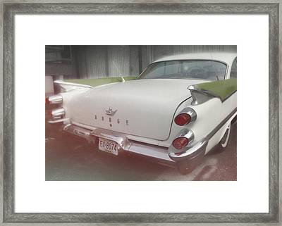 59 Dodge In Memphis Framed Print by JAMART Photography