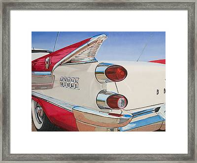 59 Dodge Royal Lancer Framed Print