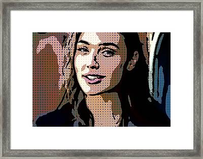 Gal Gadot Print Framed Print by Best Actors