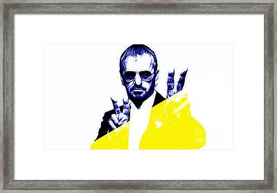 Ringo Starr Collection Framed Print