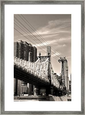 59th Street Bridge No. 4-1 Framed Print