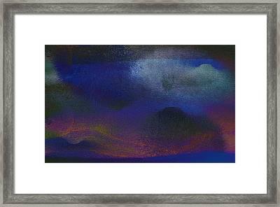 5ive Framed Print by James Barnes
