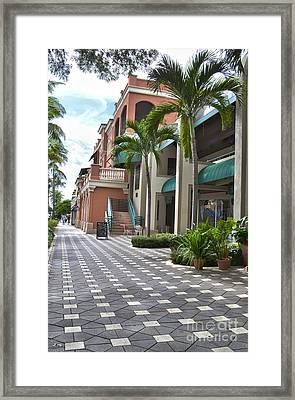 5th Avenue South Naples Florida Framed Print