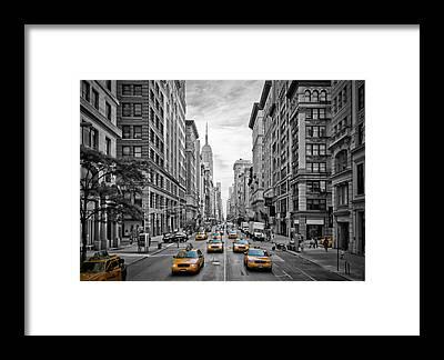 Urban Framed Prints