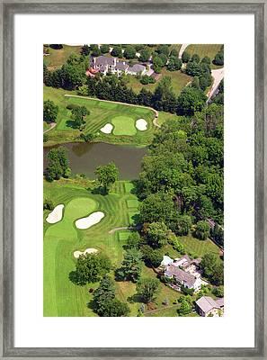 5th Hole Sunnybrook Golf Club 398 Stenton Avenue Plymouth Meeting Pa 19462 1243 Framed Print by Duncan Pearson