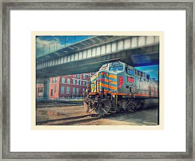 5th Street Bridge Framed Print by Dustin Soph