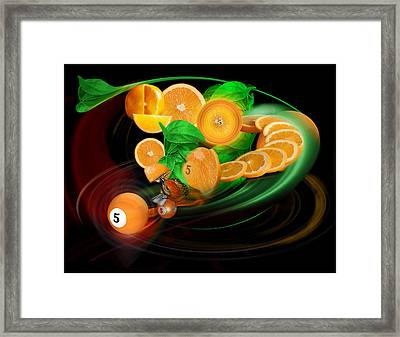 5thstep Framed Print by Draw Shots