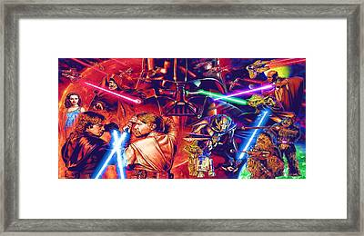 star wars characters art page 6 of 9 fine art america