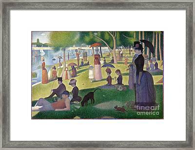 A Sunday On La Grande Jatte Framed Print by Celestial Images