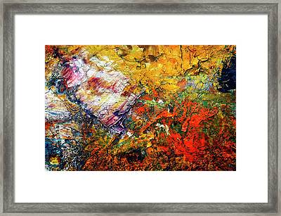 Abstract Framed Print by Michal Boubin